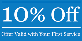 10% Off, Offer Valid with Your First Service